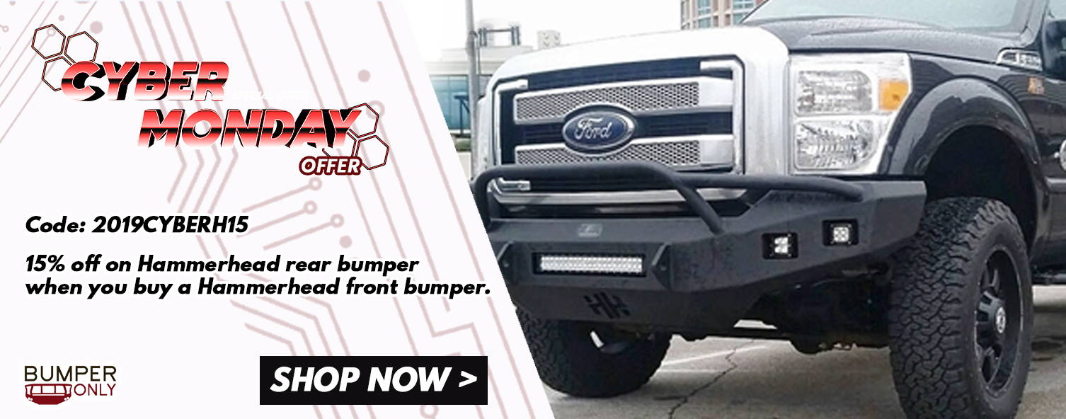 Hammerhead Front Bumpers Cyber Monday Special Promo