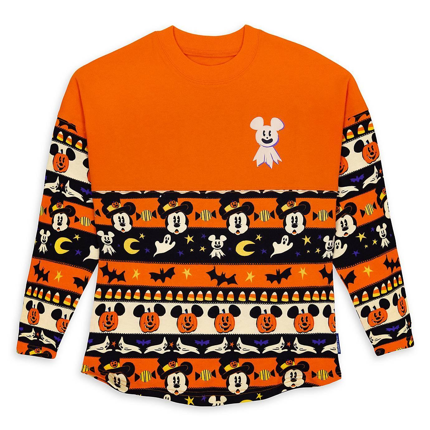 Mickey Face Black Tee Shirt 2020 Halloween Disney's Spooky Collection of 2020 Halloween Merchandise has