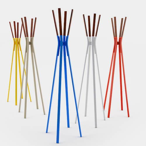 Blu Dot Splash Coat Rack