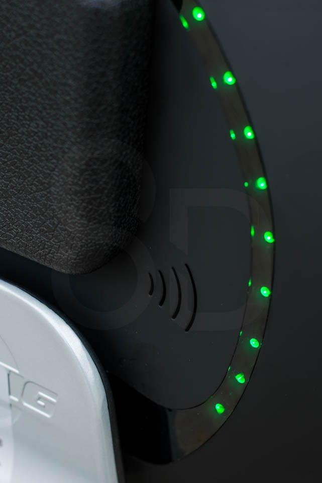 Kingsong KS16S Review speaker and lights