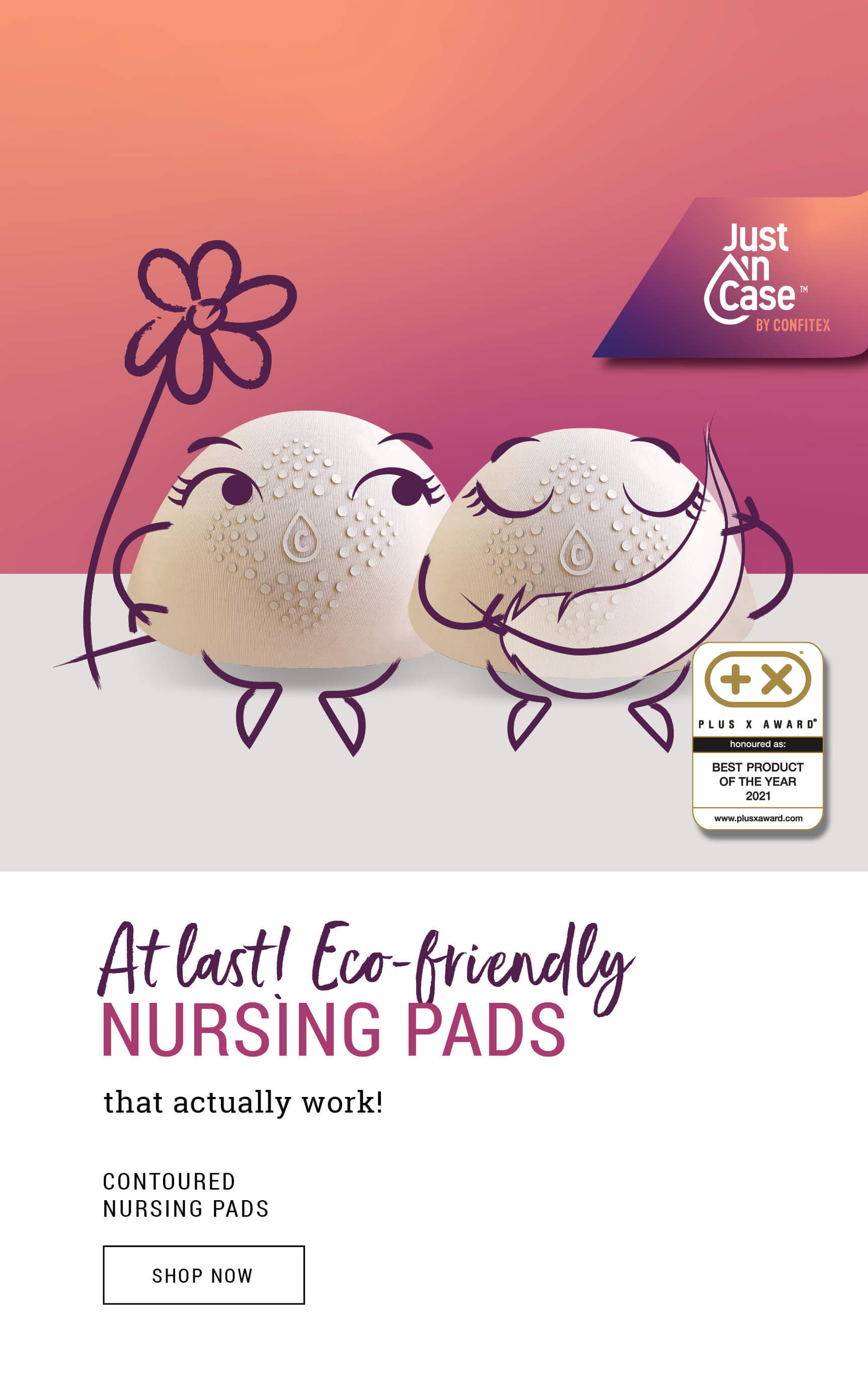 Nursing Pads Shop - Eco-friendly, super absorbent, and gentle on your skin