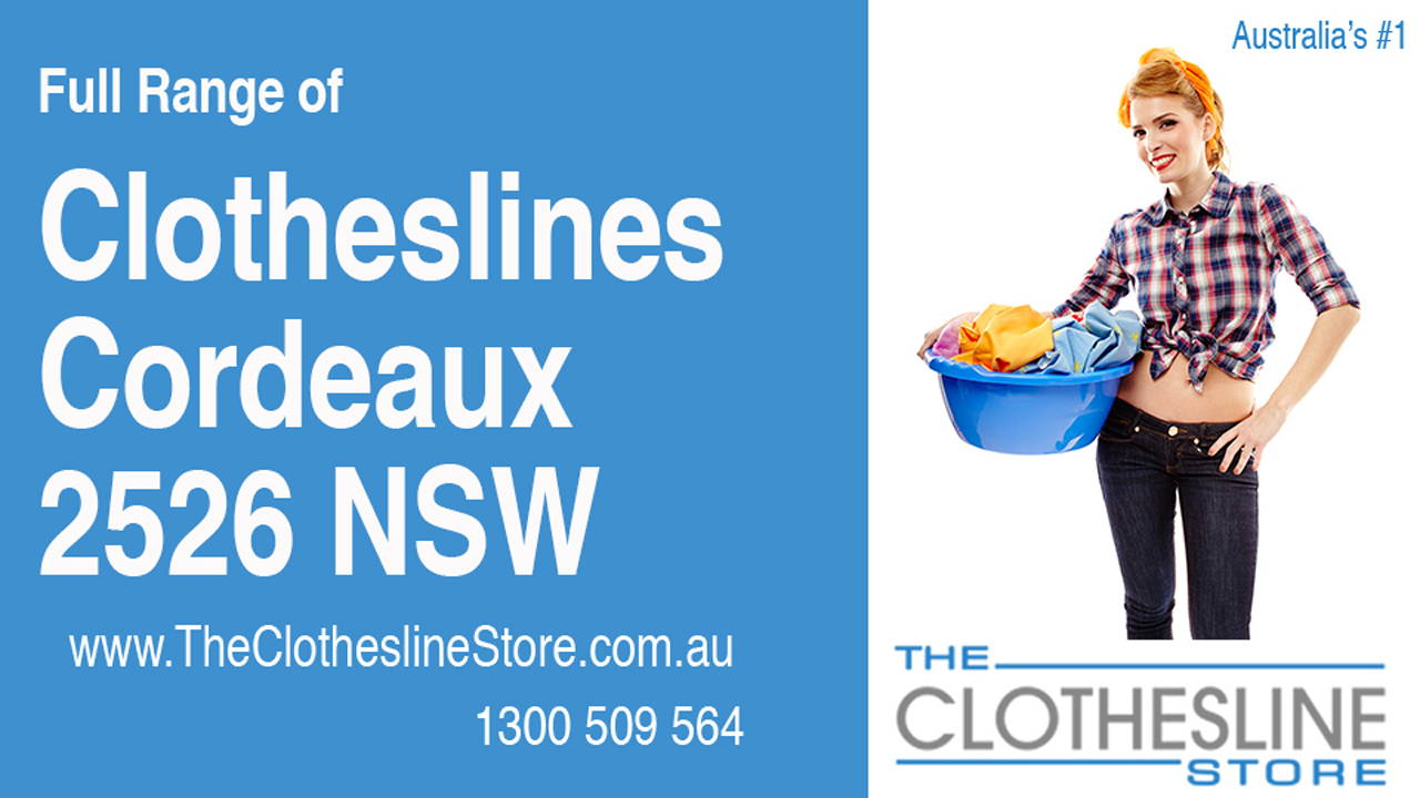 New Clotheslines in Cordeaux 2526 NSW