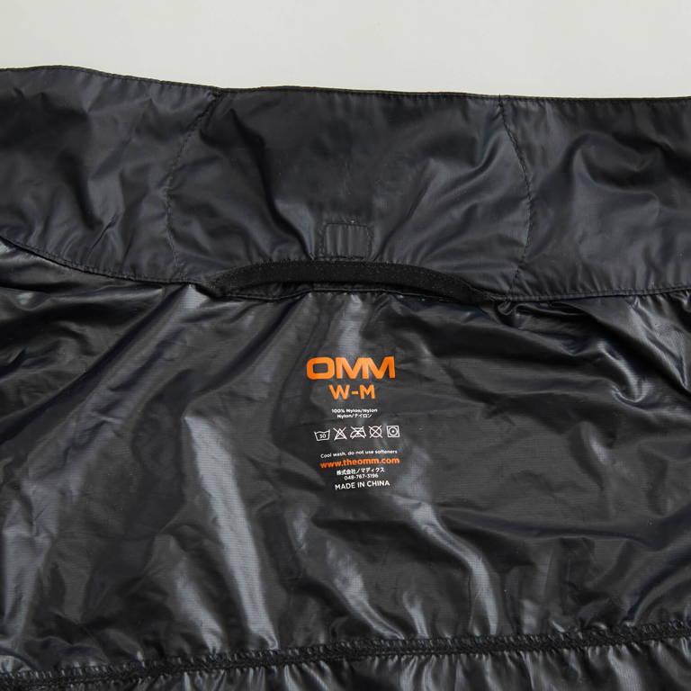 OMM(オーエムエム)/ソニックジャケット/ブラック/WOMENS
