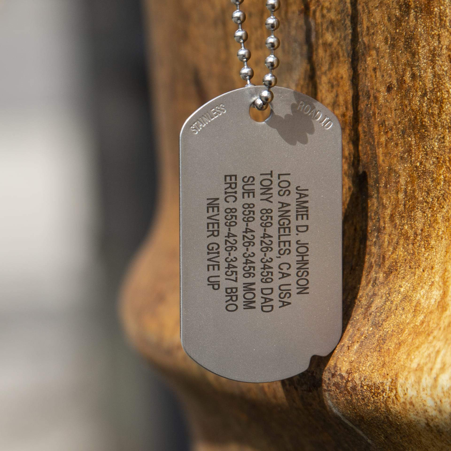 Medical Alert Necklace by ROAD iD