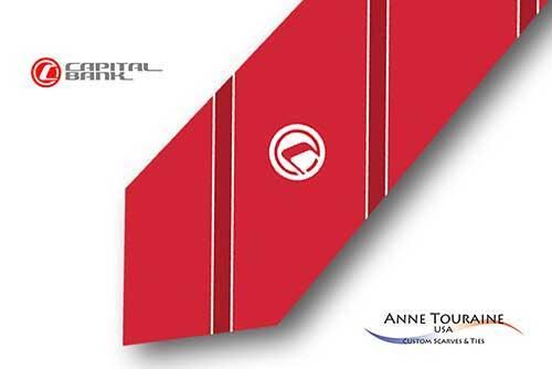 Striped-custom-ties-bow-ties-logo-design-style-red