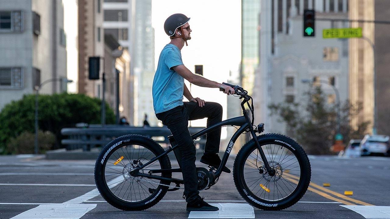 Alpha Murf E-Bike |Matte Black Electric Bike | Murf Electric Bikes