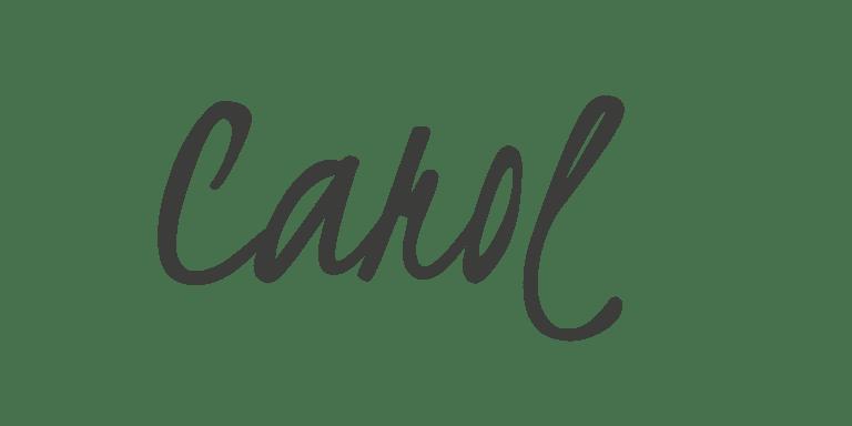 Carol's Signature