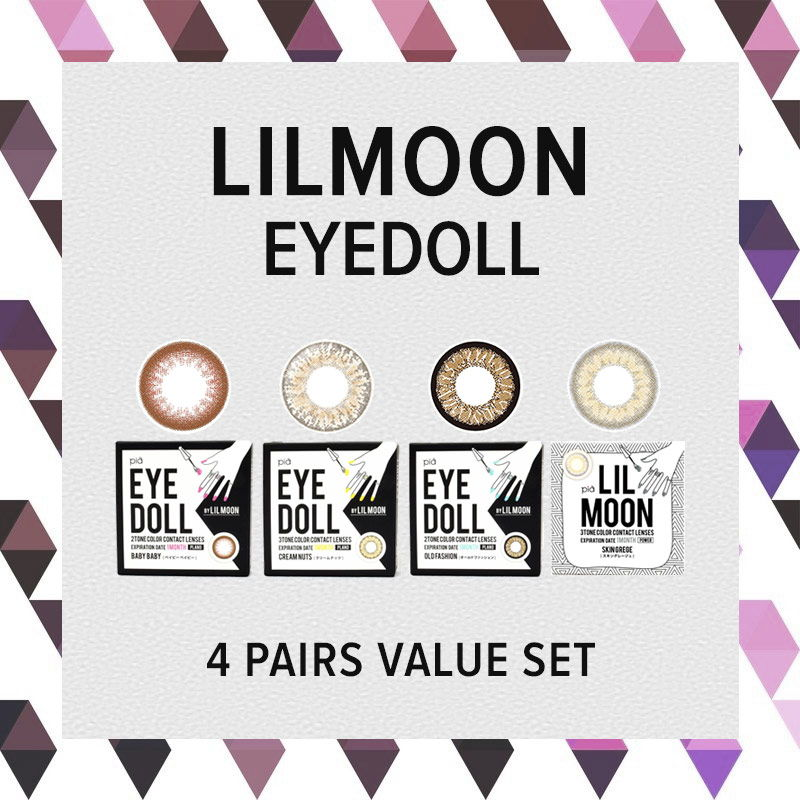 LILMOON Monthly (eyedoll) colored contact lenses