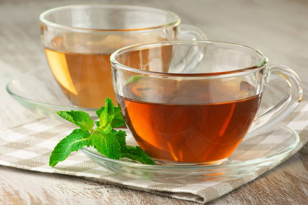 green tea to help boost white blood cells and immune system