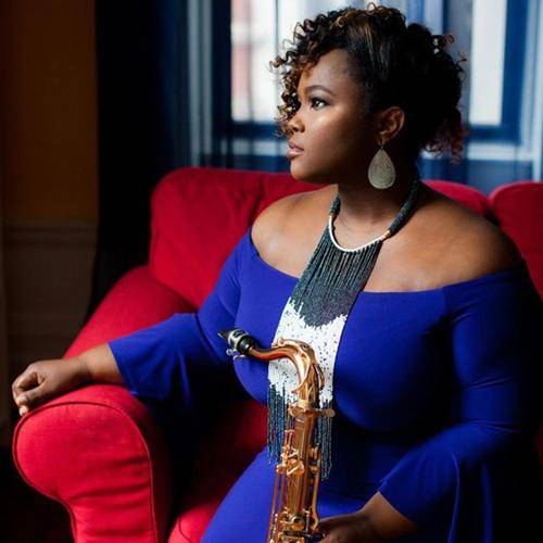 Camille Thurman trusts Key Leaves to stop sticky sax key pads including sticky G#, Eb, and C#.