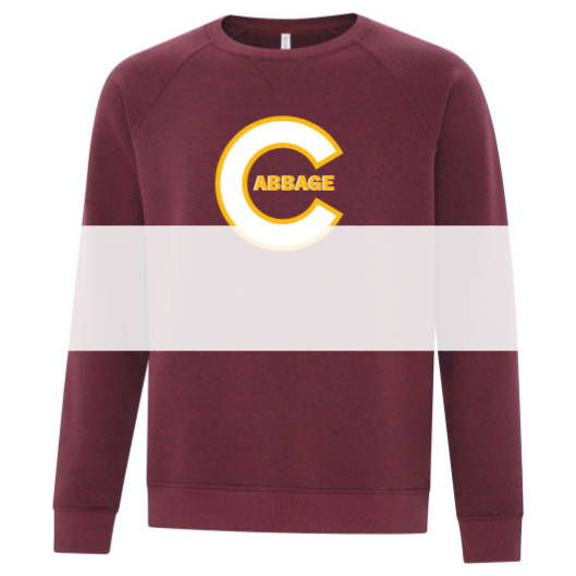 Custom screen printed or embroidered crew neck sweaters from Sanmar Canada The Authentic T-Shirt Company (ATC)