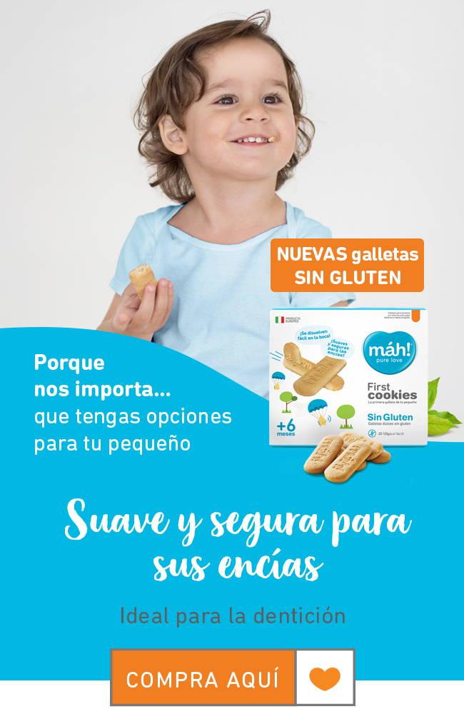 galletas sin gluten para bebe