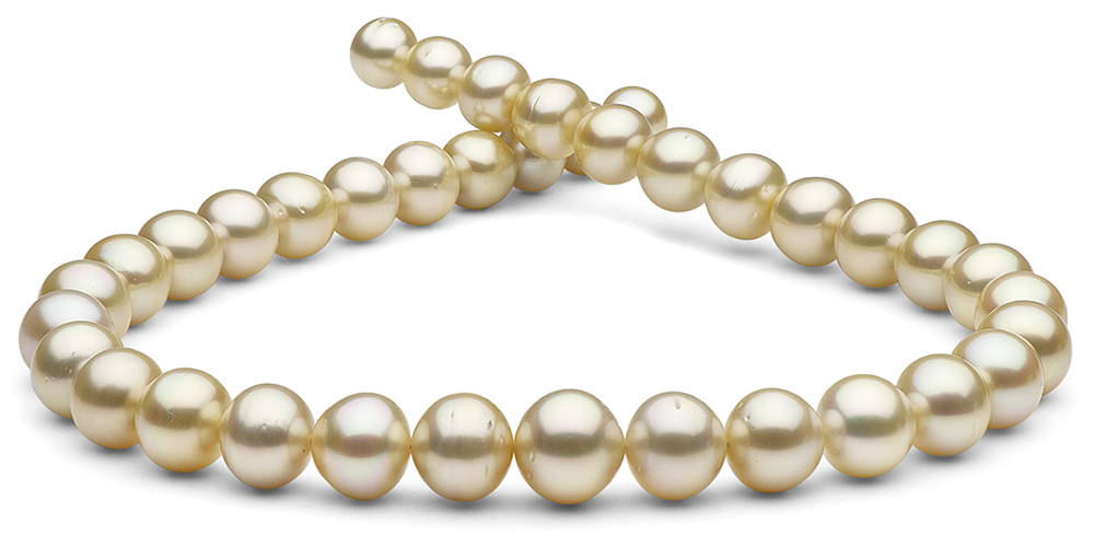 Pearl Colors: Champagne South Sea Pearls
