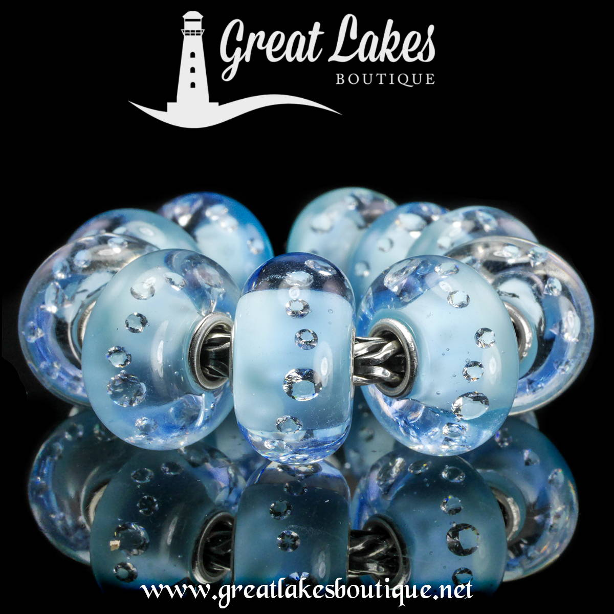 Trollbeads Shades of Sparkle Pacific