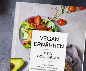 Ernährungsplan für Veganer