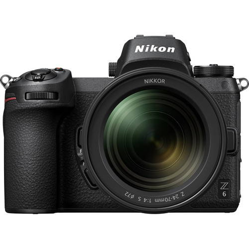 Nikon Z6 with 24-70mm f.4 S Lens - Trade In Up