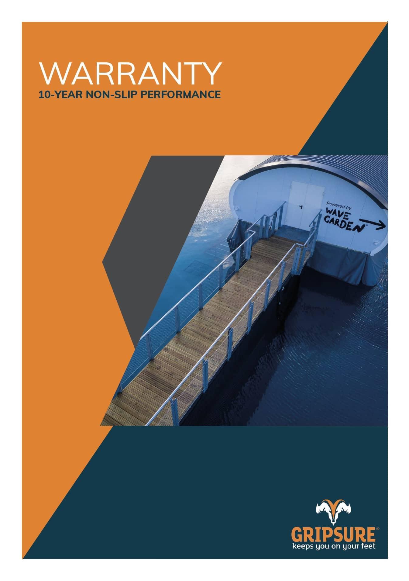 Gripsure's 10-Year Performance Warranty
