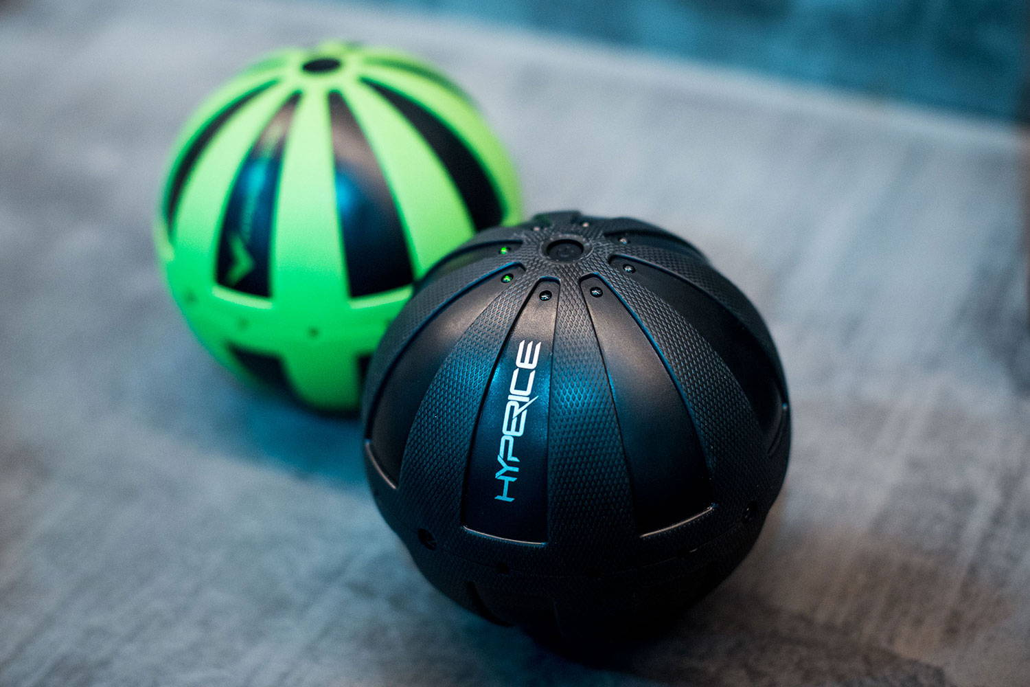Hyperice Hypersphere green and black