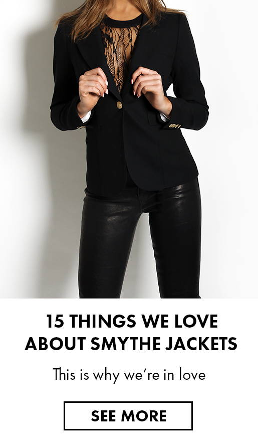 15 things we love about Smythe