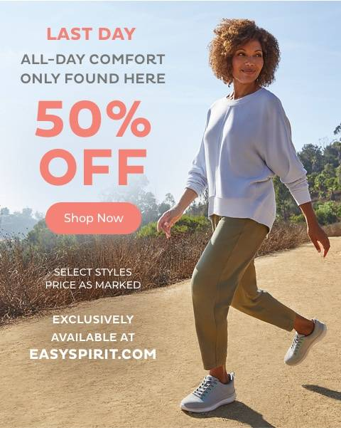 All -Day Comfort 50% Off