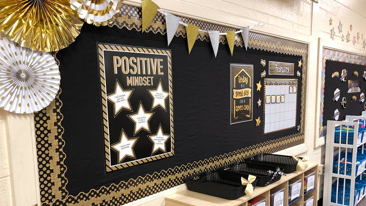 cbac722de5e Sparkle and Shine Classroom Theme  Glitter & Foil Classroom Decorations
