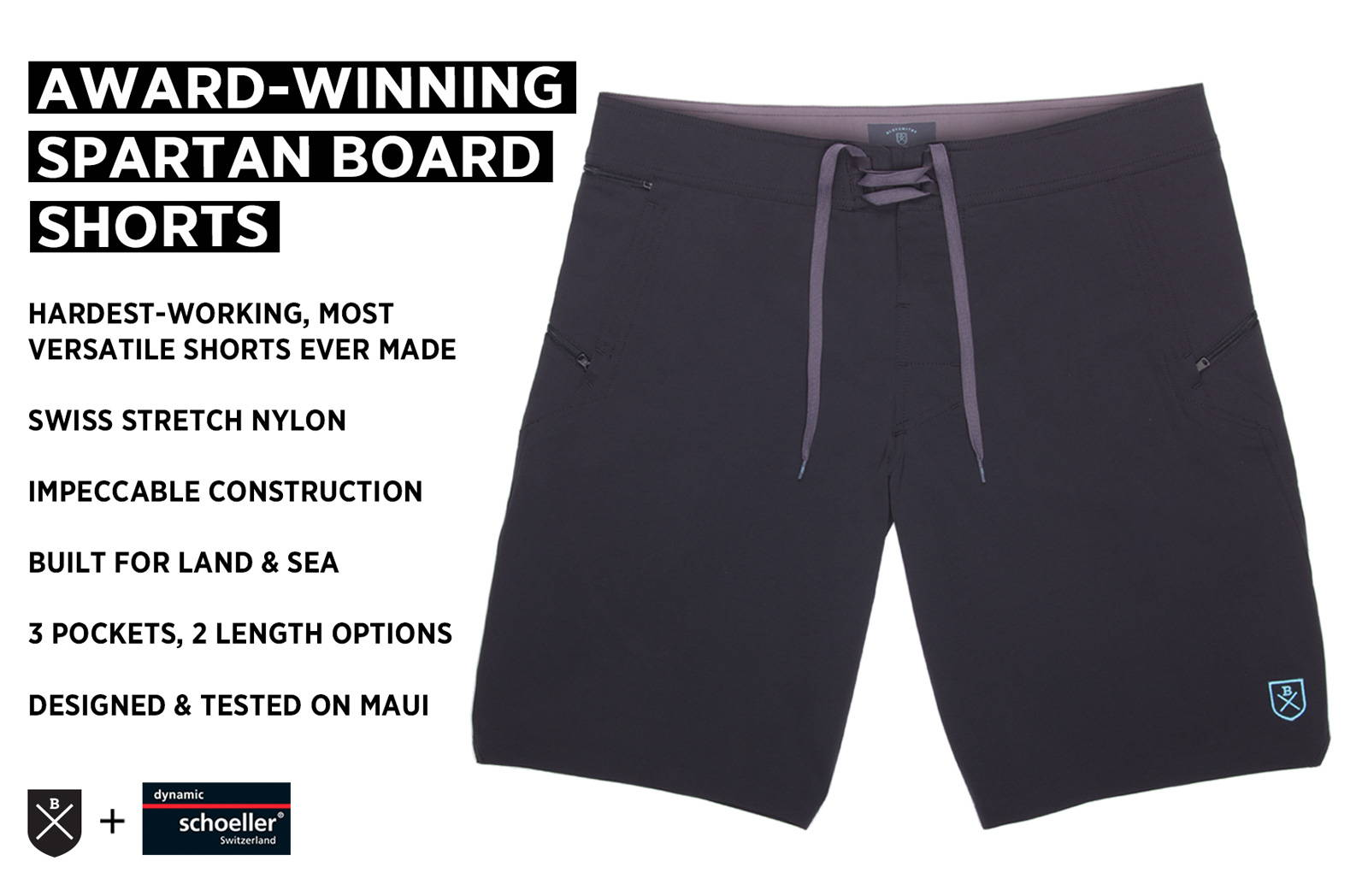 Why Bluesmiths built the Spartan board shorts