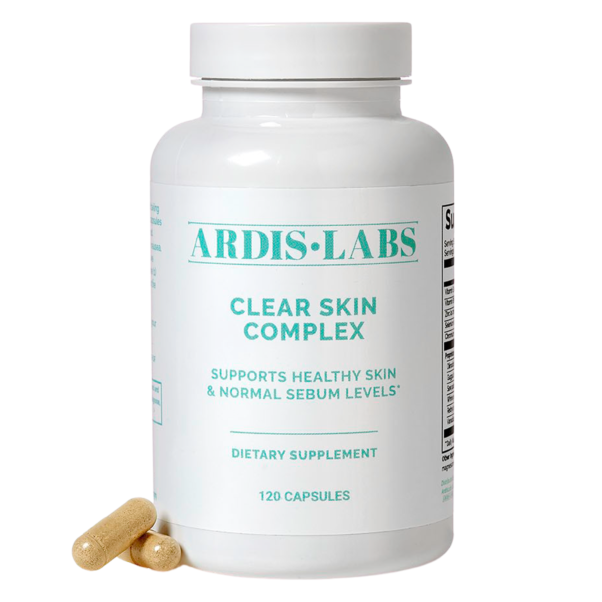 ArdisLabs Clear Skin Complex Product Information