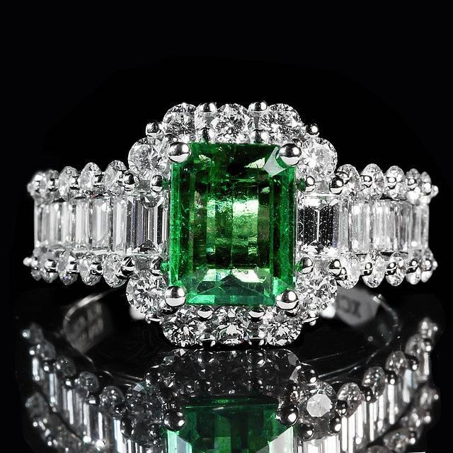 Emerald Ring - Baguette Cut - That Ring Shop