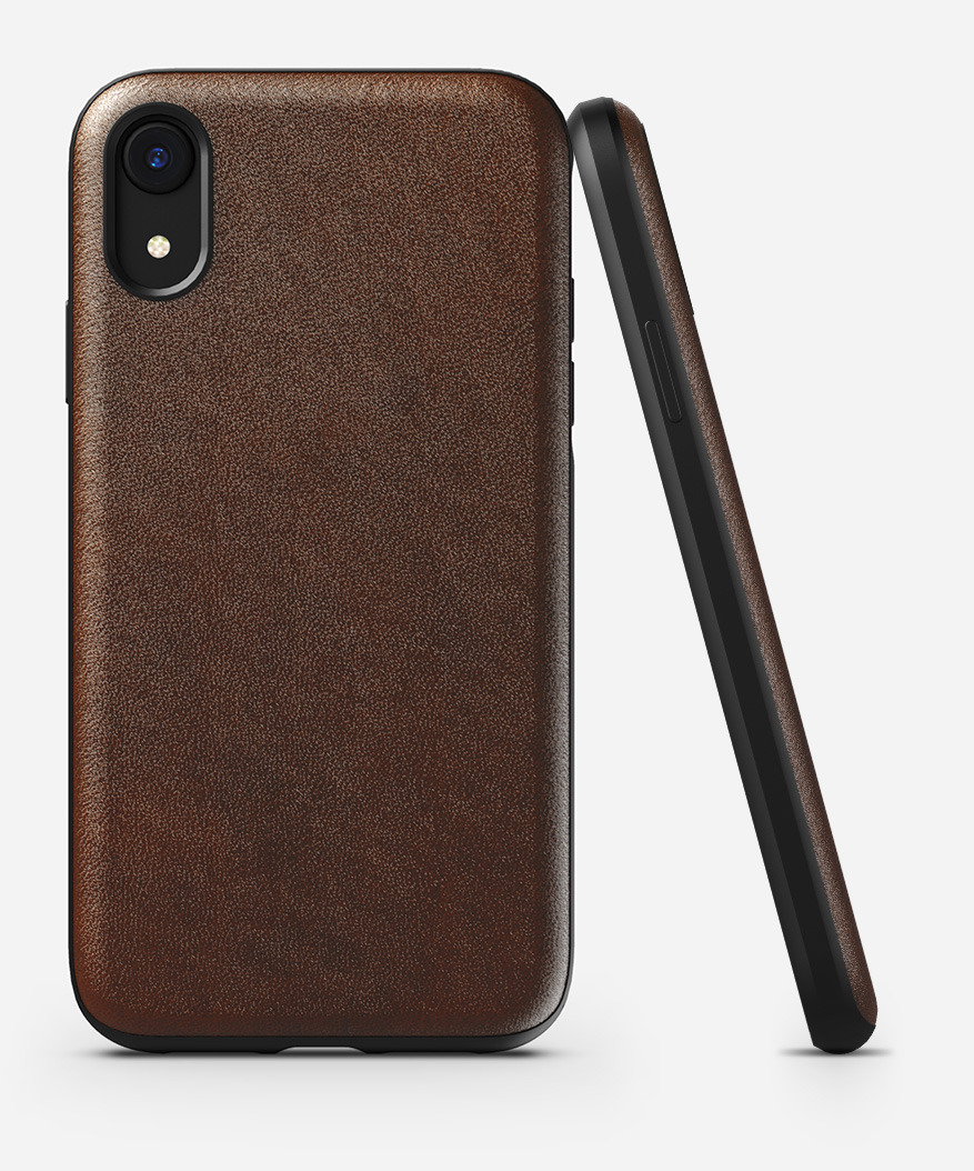 on sale 4bfe0 08b3c NOMAD® | Rugged Case for iPhone XR, Rustic Brown