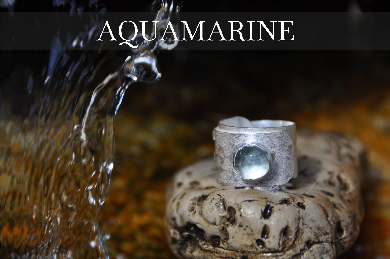 Aquamarine Wrap Ring