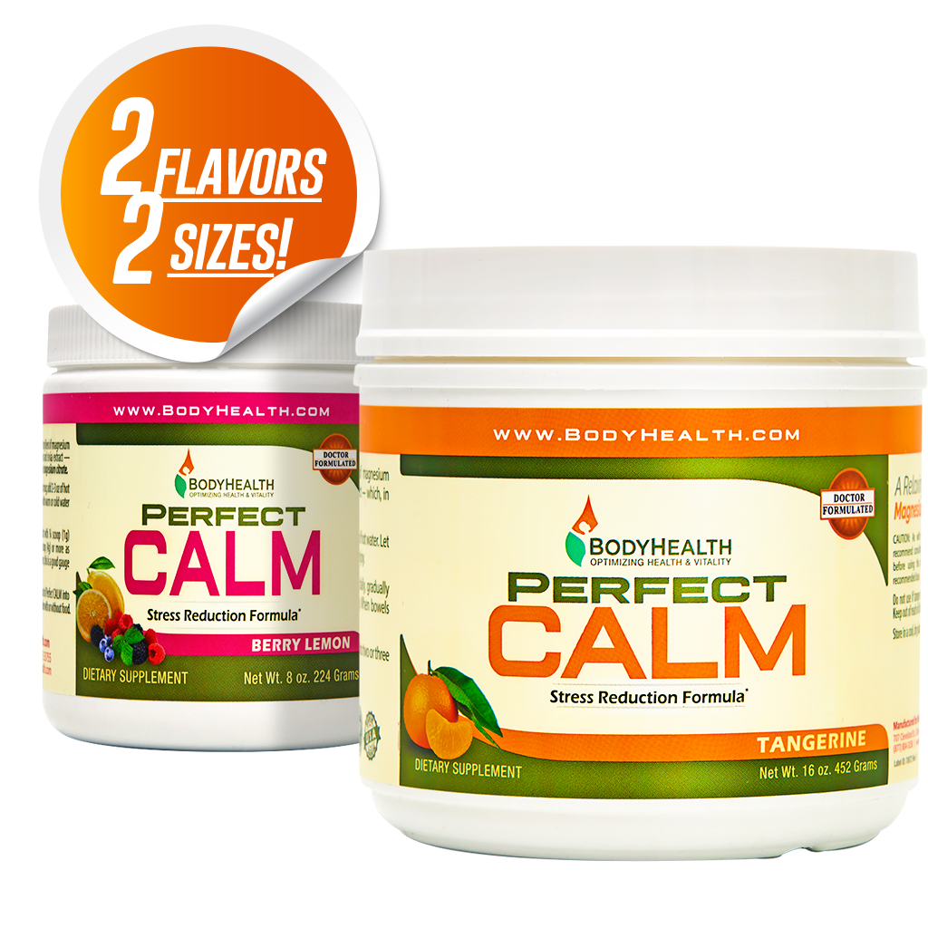 BodyHealth Perfect CALM All Natural Magnesium Drink