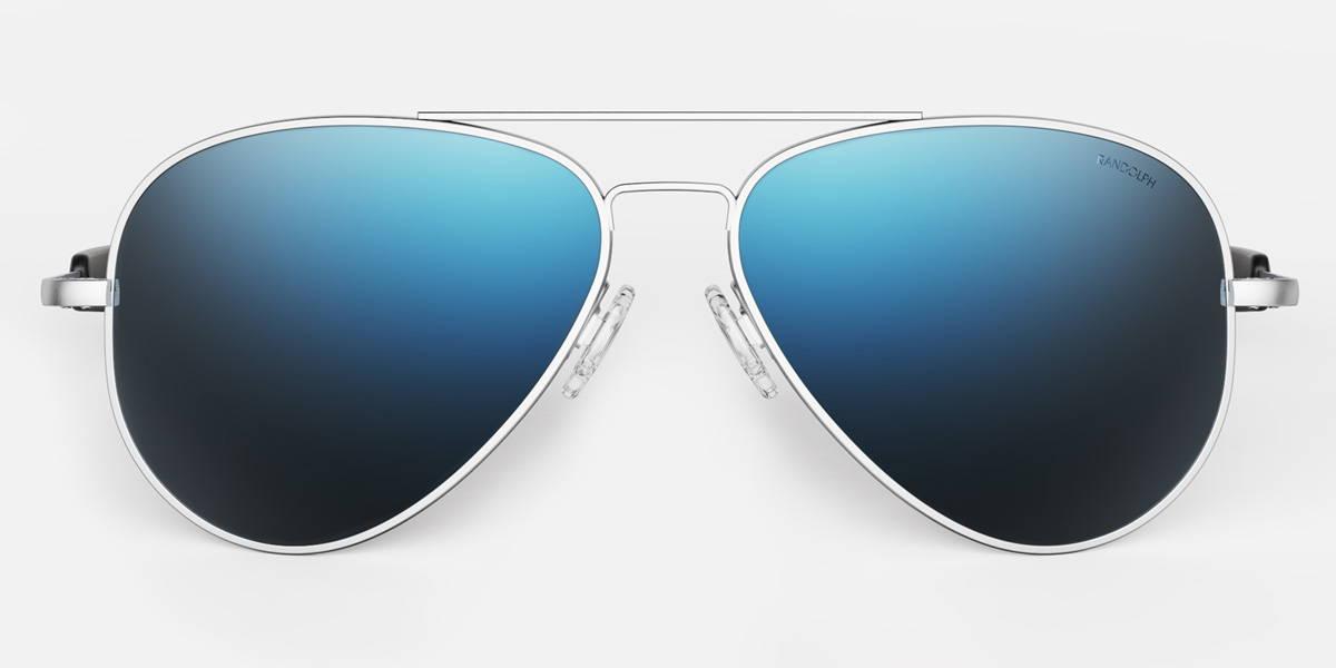 Concorde Matte Chrome Pilot Sunglasses