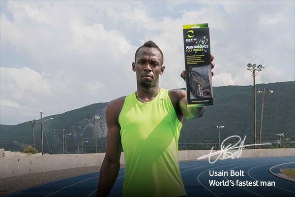 Usain Bolt Enertor brand ambassador