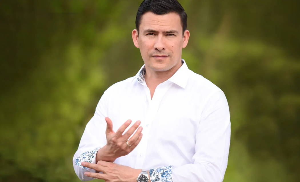 Photo of Real Men Real Style founder, Antonio Centeno