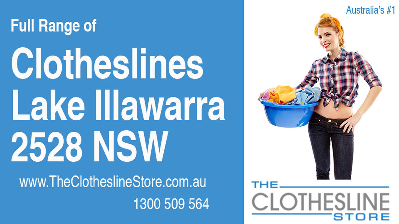 New Clotheslines in Lake Illawarra 2528 NSW