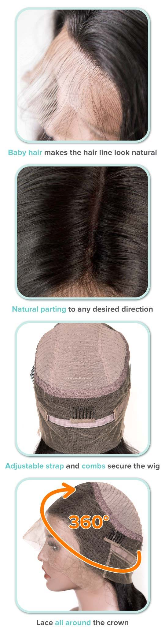 wigs that look like natural hair