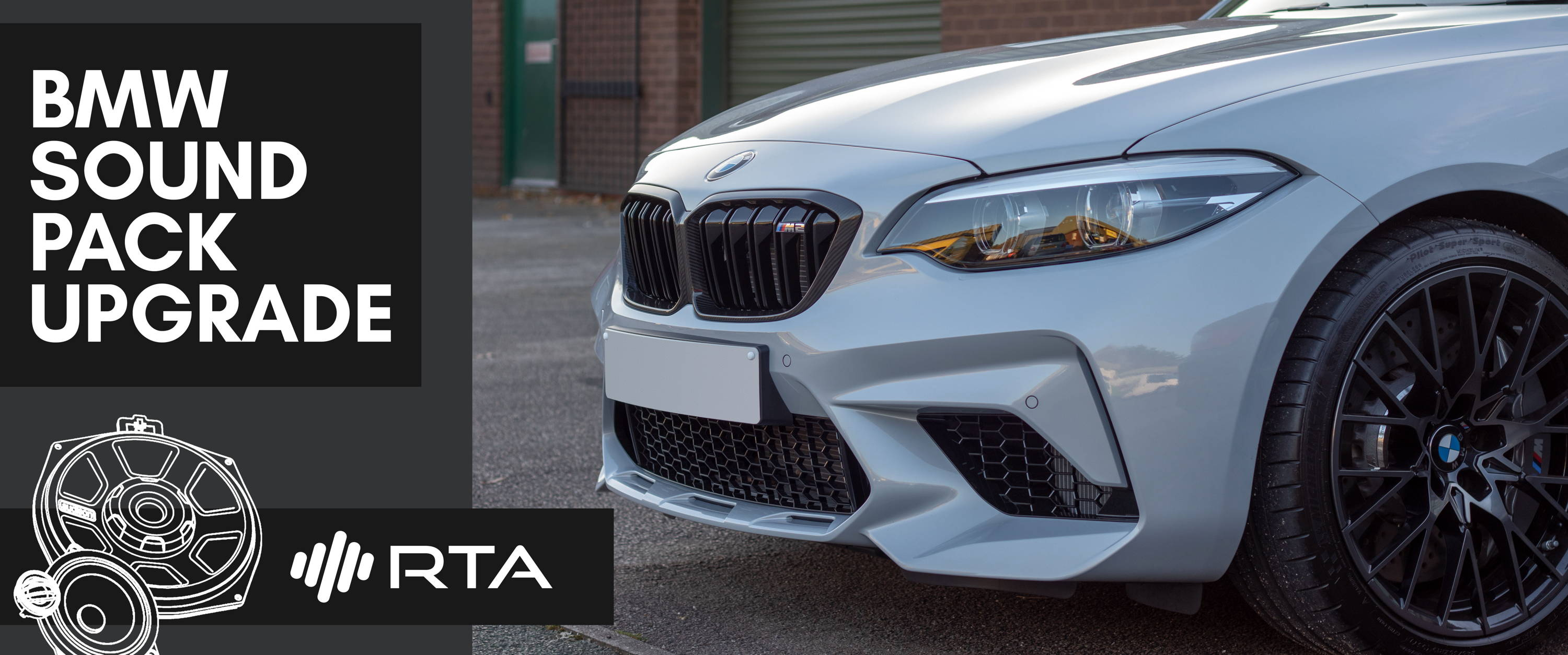 BMW audio upgrade – RTA Car Audio