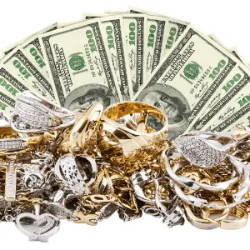 Valuables money, jewelry in your safe