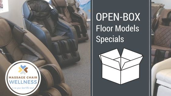 Read about our floor models discounts