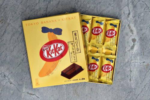 Banana flavored Kit-Kats