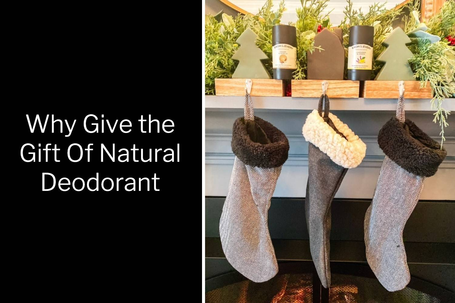 Find out why you should gift Each & Every natural deodorant this Holiday season