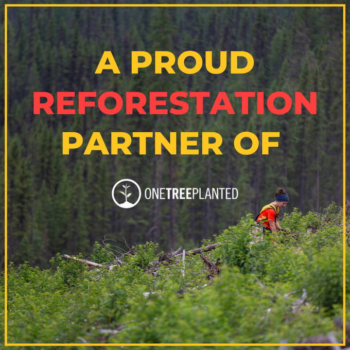 A proud reforestation partner of One Tree Planted