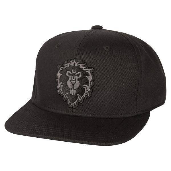 WORLD OF WARCRAFT BLACKOUT ALLIANCE SNAP BACK HAT