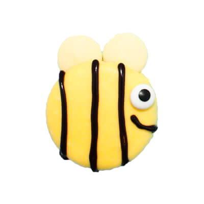 Bee oreo cookies