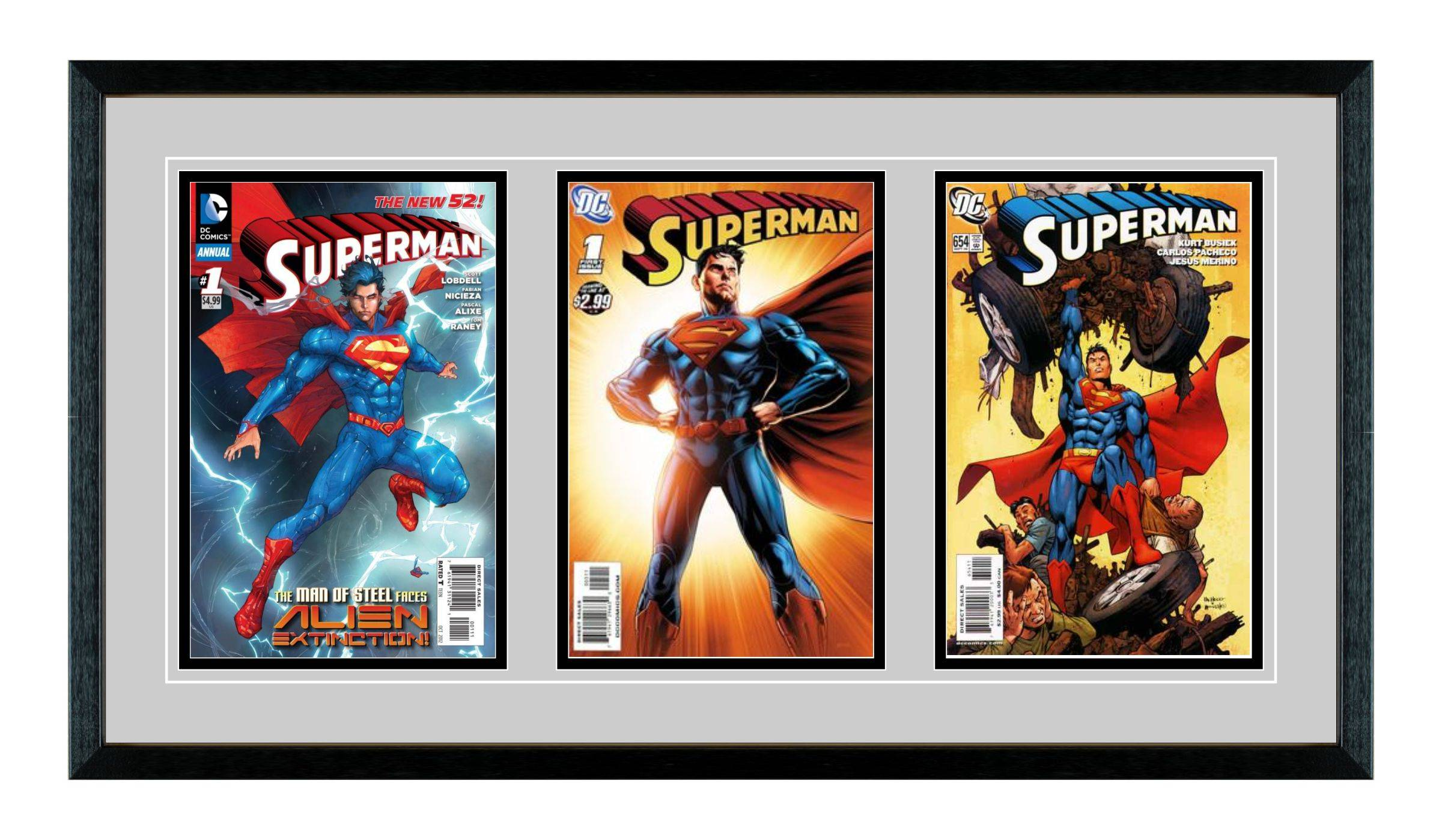 Triple Comic Book Frame