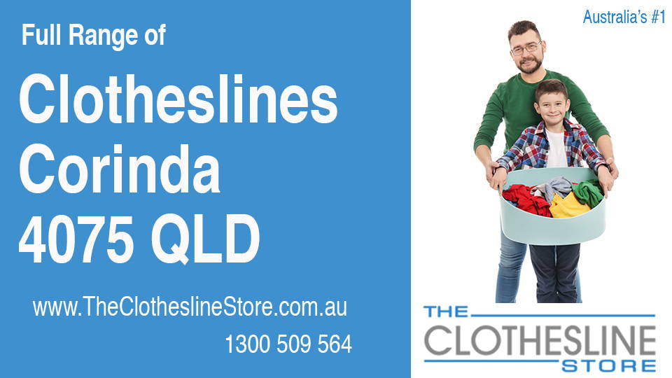 New Clotheslines in Corinda Queensland 4075