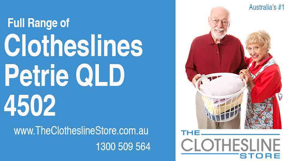 New Clotheslines in Petrie Queensland 4502