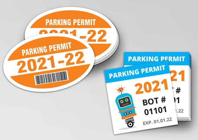 Shop Parking Permits & Passes