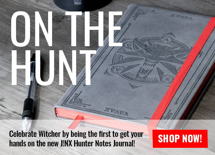 ON THE HUNT: THE WITCHER 3 HUNTER NOTES JOURNAL