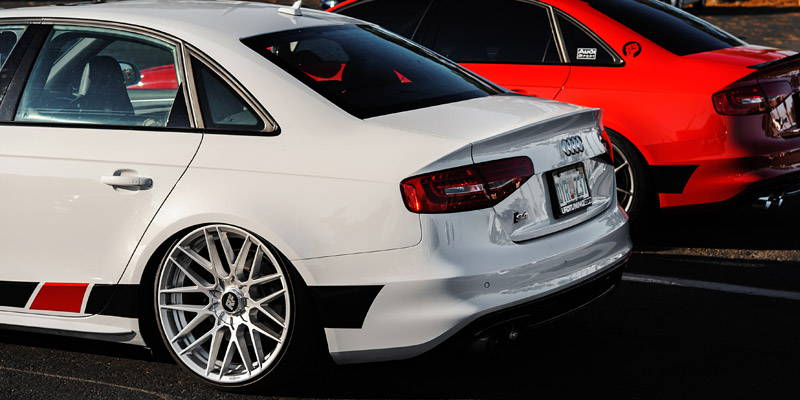 Audi with Awe Tuning Parts